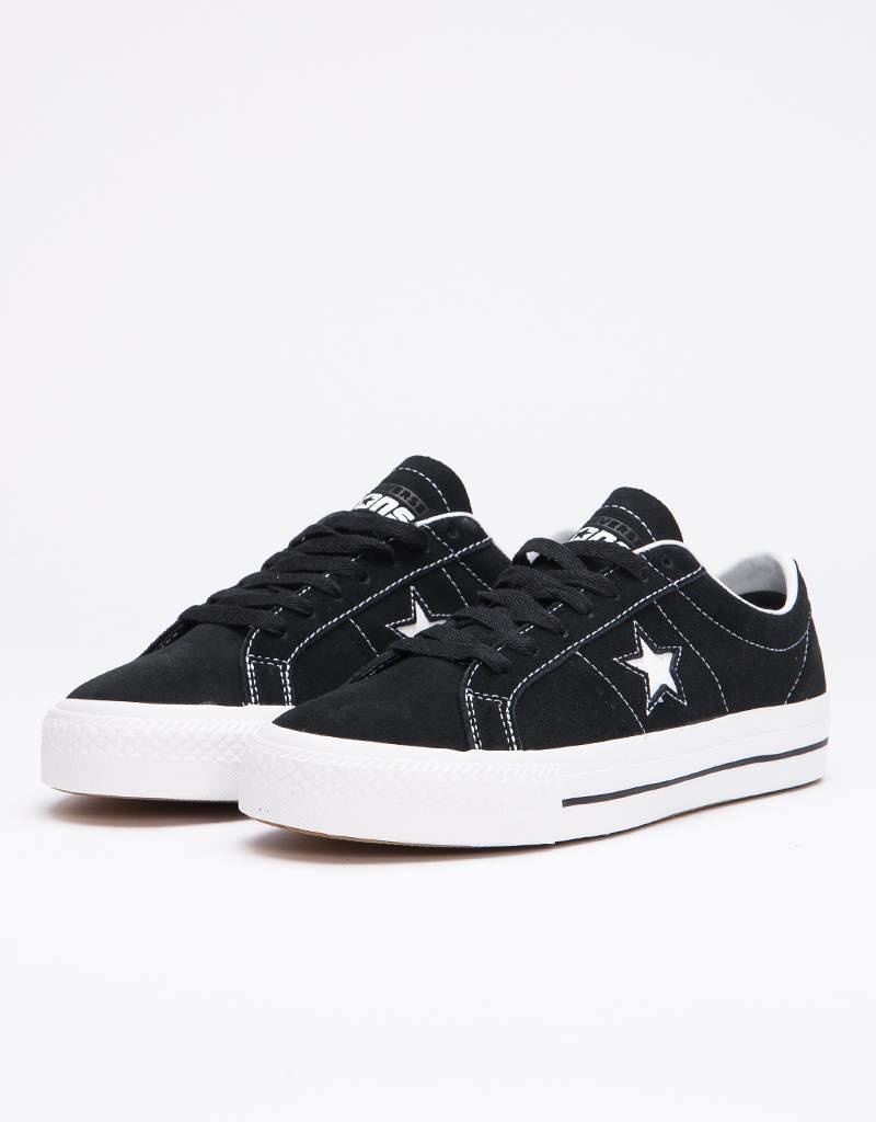 Converse Pro One Star Ox Black/White/White Black