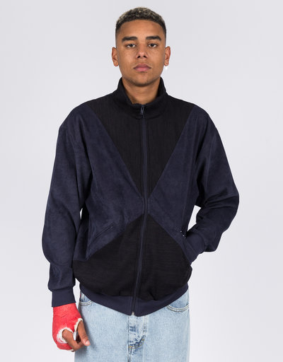 Yardsale Velour Full Zip Navy