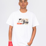Hockey Cut Tee White