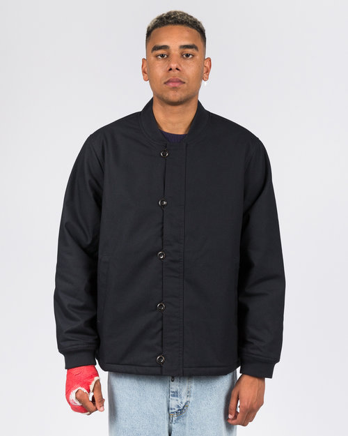 Levis Levi's skate Pile Jacket Black Canvas