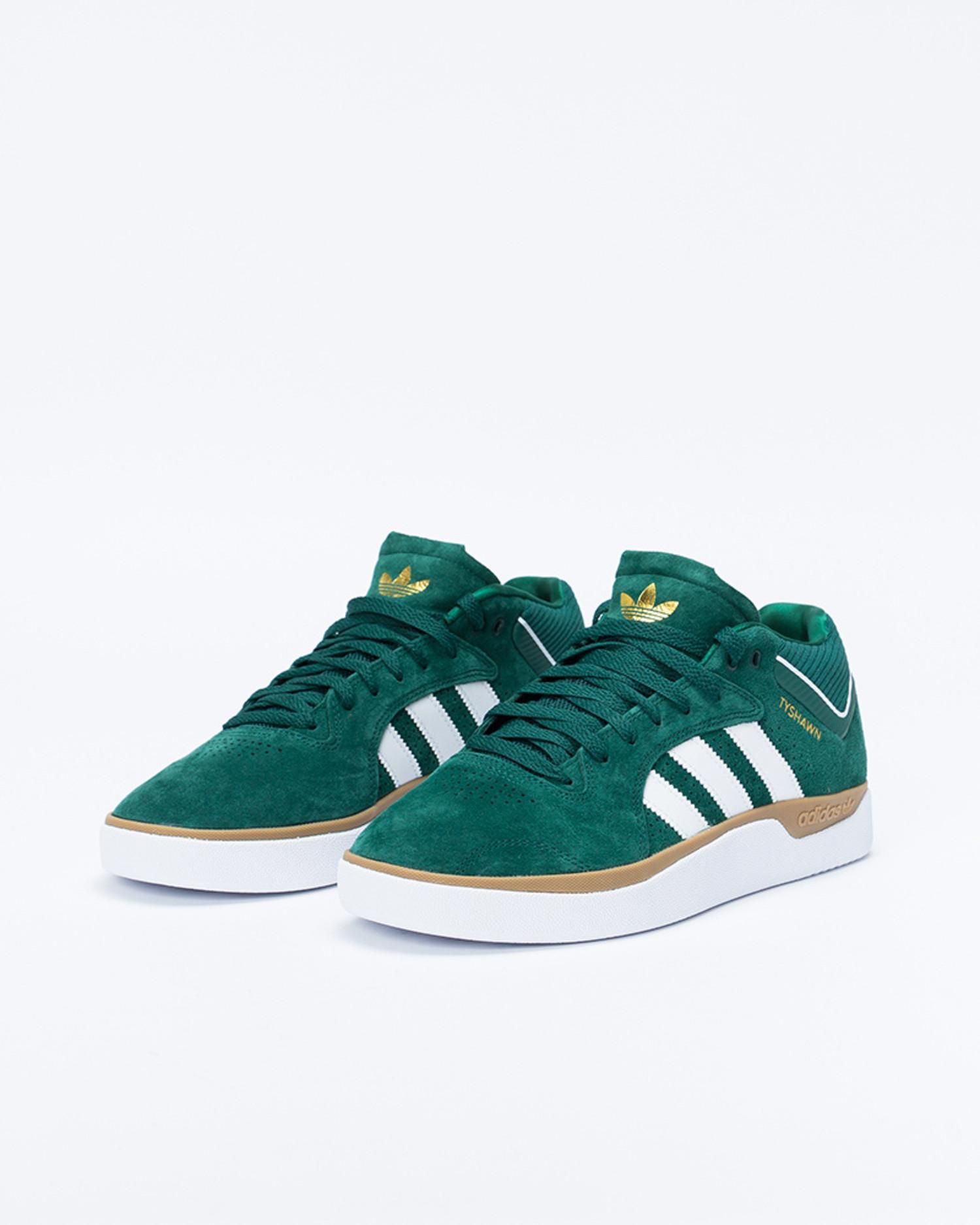Adidas Tyshawn Cgreen/Ftwwht/Gum4