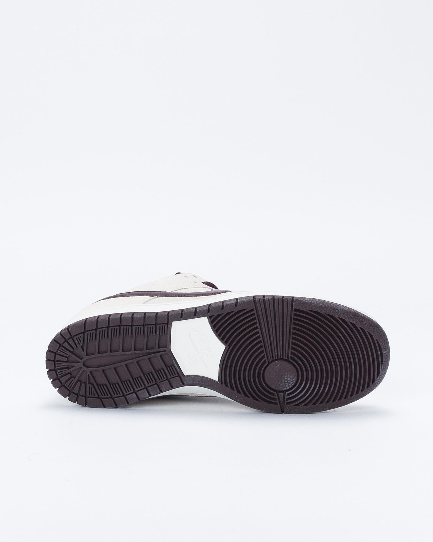 Nike SB Dunk Low Pro Desert Sand/Mahogany-Summit White