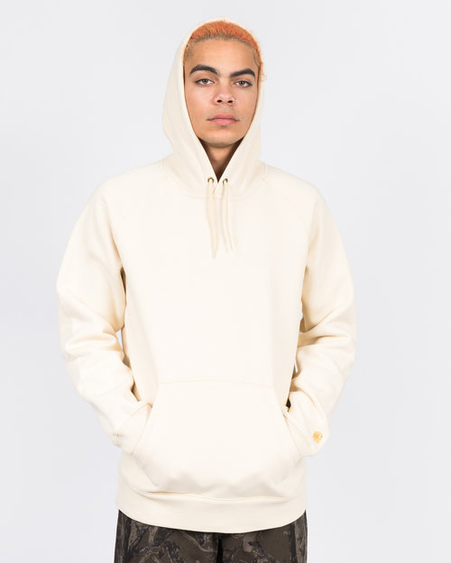 Carhartt Carhartt Hooded Chase Sweater Flour/Gold