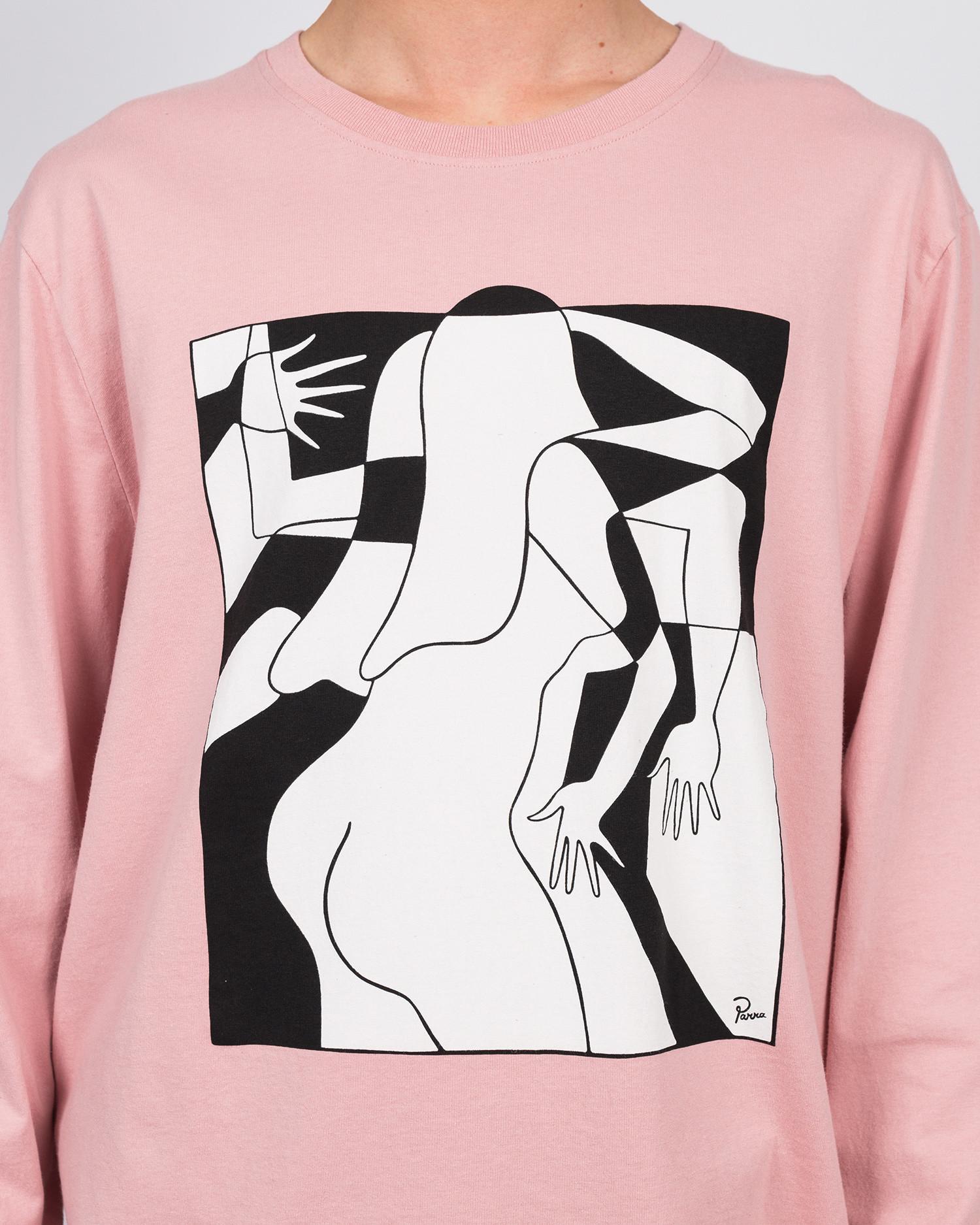 Parra artist businesswoman long sleeve t-shirt rose