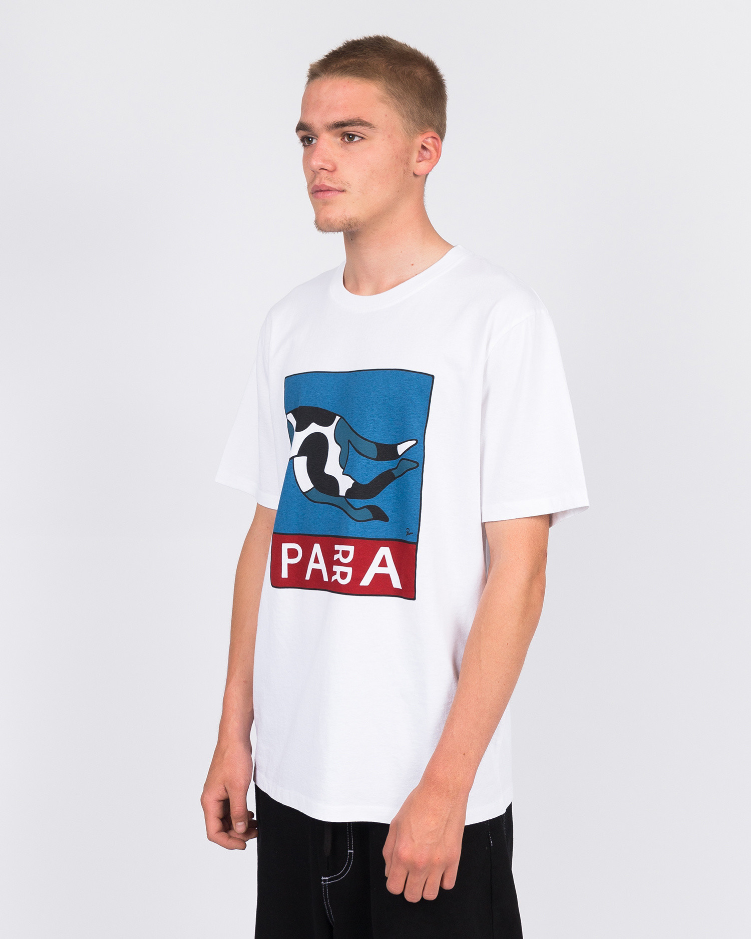 Parra escaping you t-shirt white