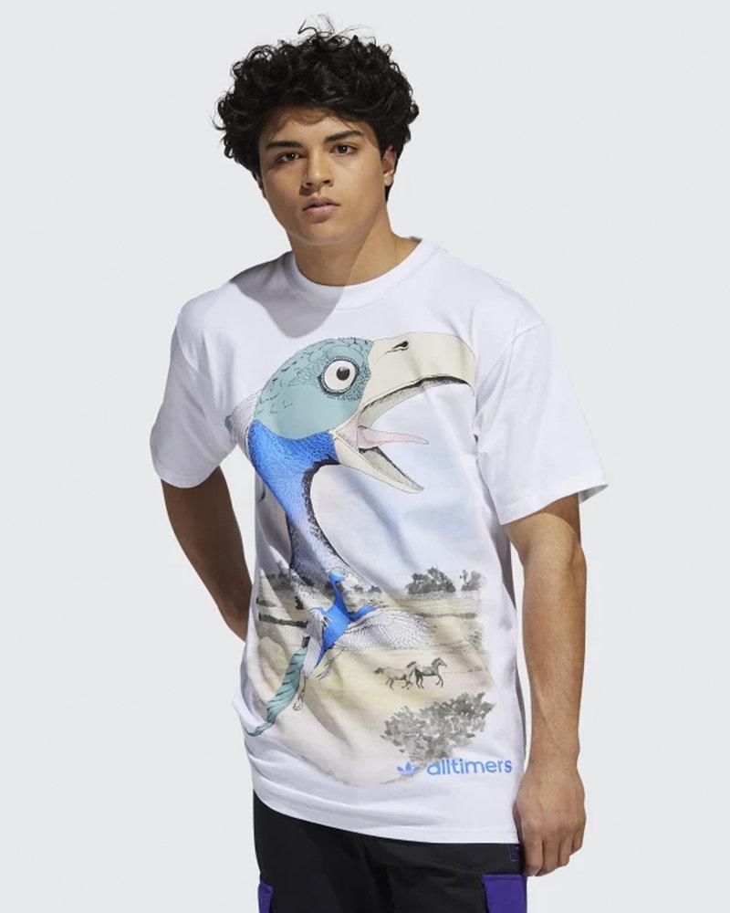 adidas Skateboarding adidas x Alltimers T-Shirt White/Multicolor