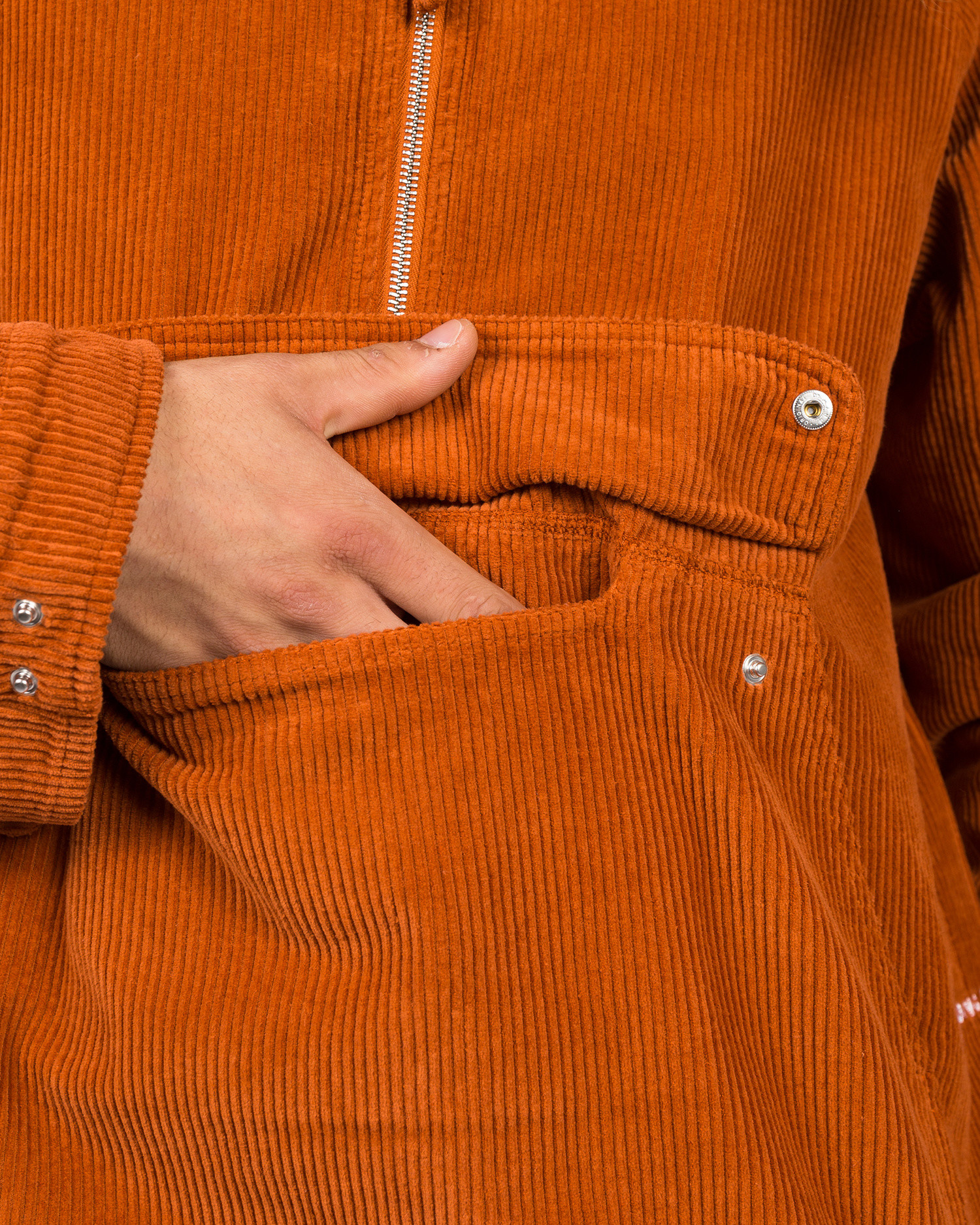 Pop Trading Co DRS Jacket Amber