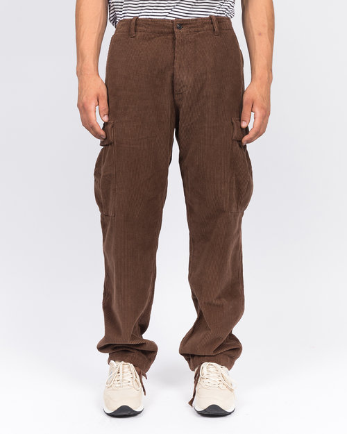 Pop Trading Co Pop Trading Co cord cargo pants brown
