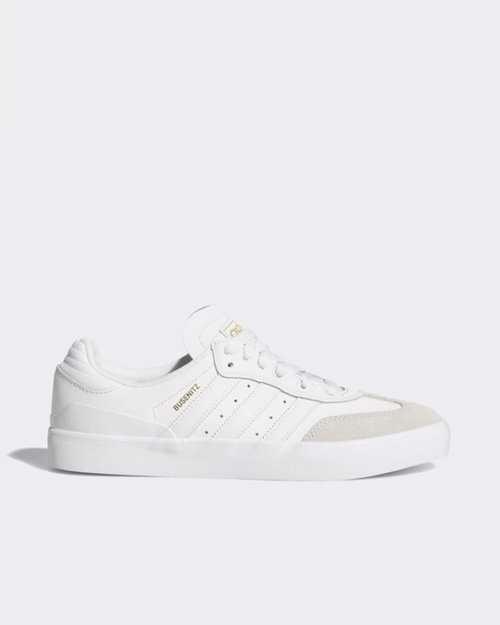 Adidas Skateboarding Adidas Busenitz vulc rx Crystal White/Black/Gold Metallic