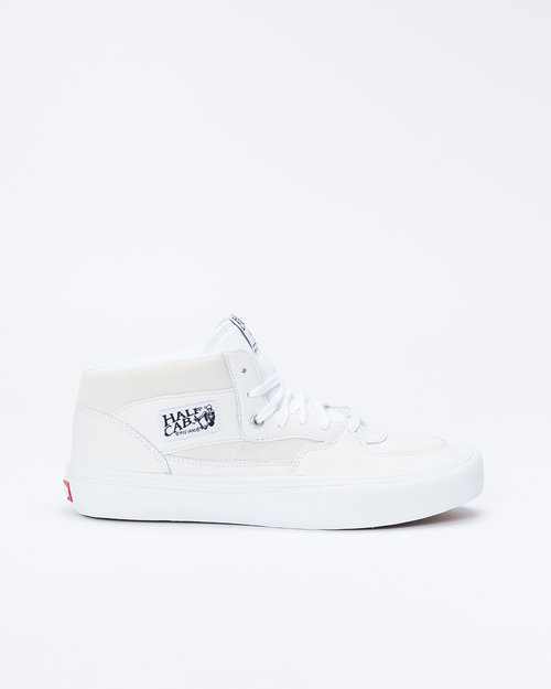 Vans Vans Half Cab Pro (Leather) White