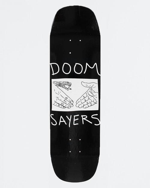 Doom Sayers Doom Sayers Deck Snake Shake Black 8.28
