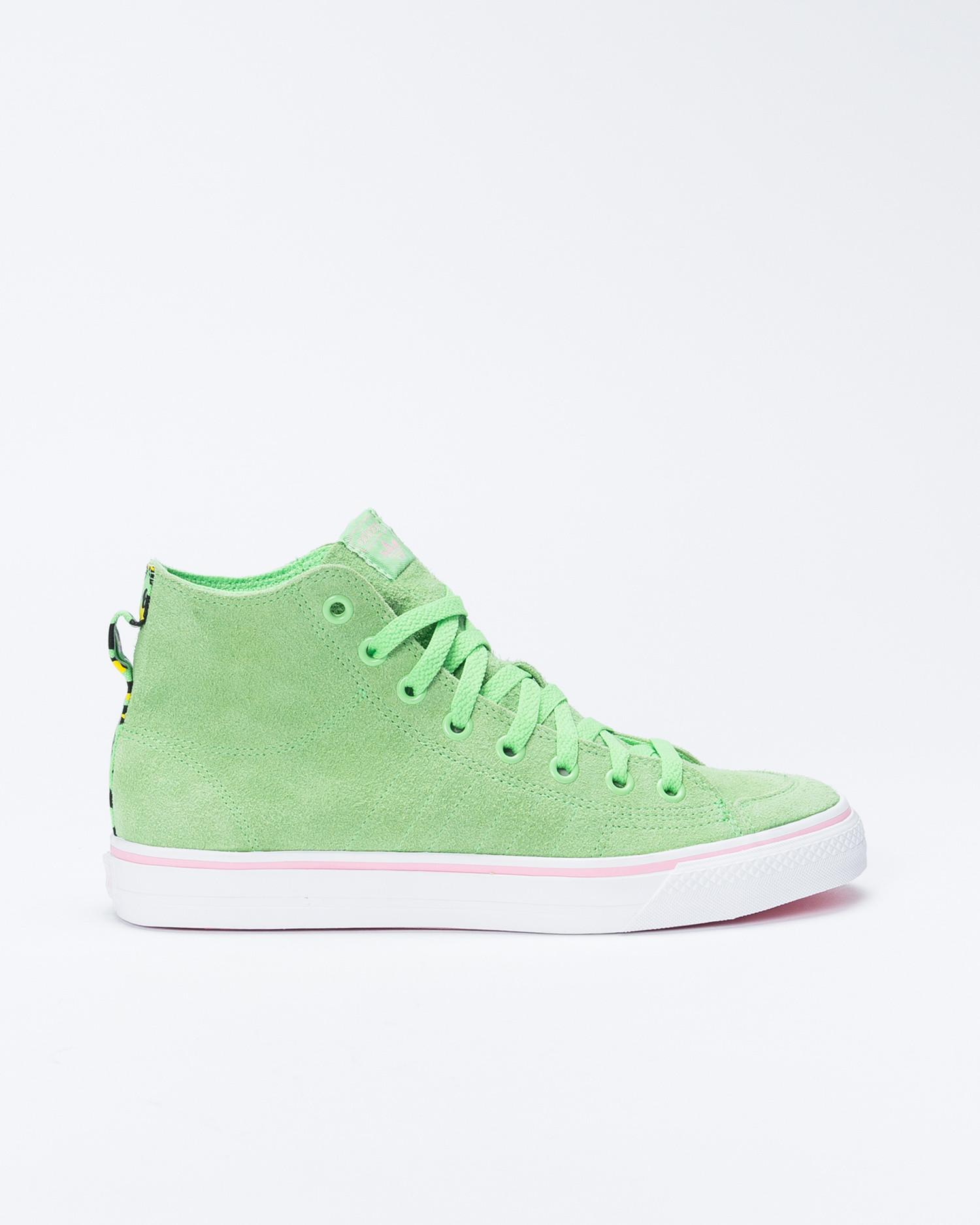 Adidas Nizza RFS  Sprgrn/Ftwwht/Ltpink