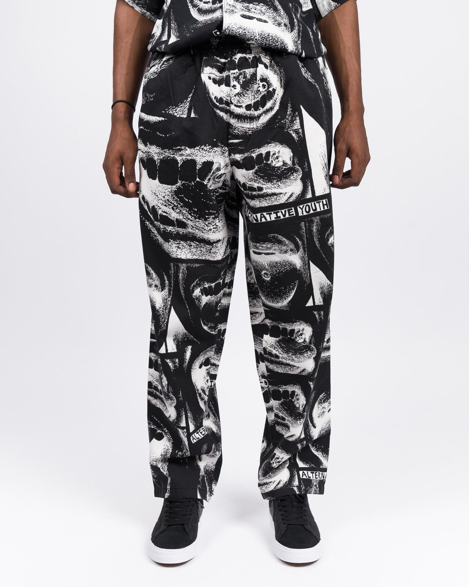 Polar X Iggy Alternative Youth Pants Black