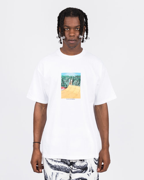 Polar Polar X Iggy Boys on a ramp Tee White