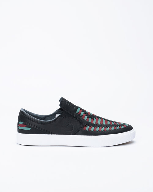 Nike SB Nike SB Zoom Stefan Janoski Slip RM Crafted Black/Black-Bicoastal-Team Red