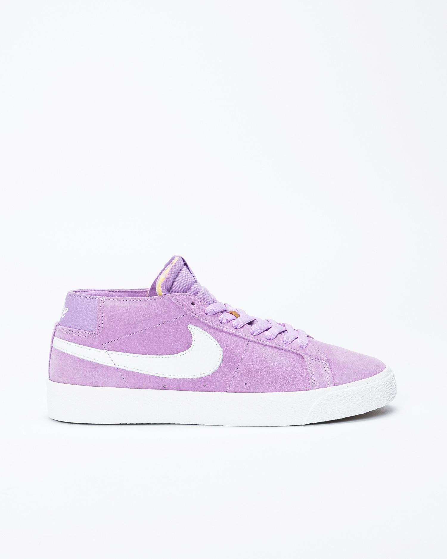 best service 0c11c 593ca Nike Sb zoom blazer Chukka Violet Star/Chukka white