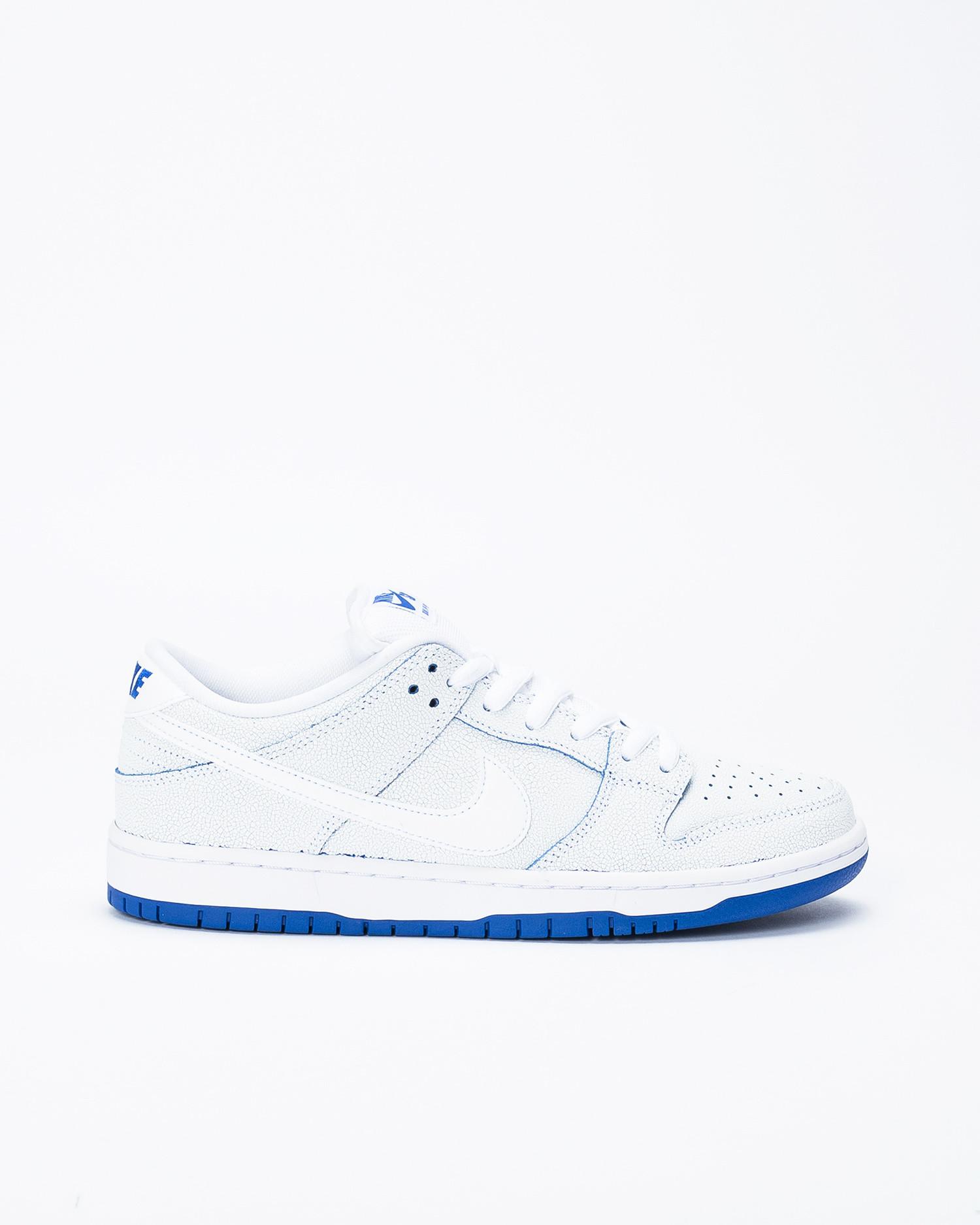 big sale a515a d2c45 Nike SB Dunk Low Pro Premium White/White