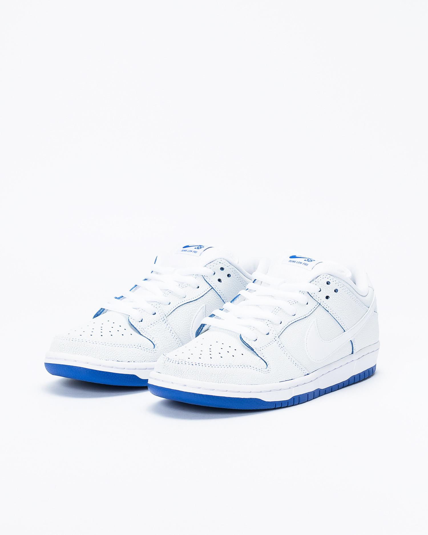 big sale f5297 6eec0 Nike SB Dunk Low Pro Premium White/White