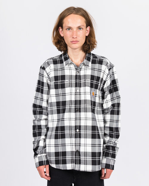 Carhartt Carhartt Pulford Shirt Jacket Checkered Wax