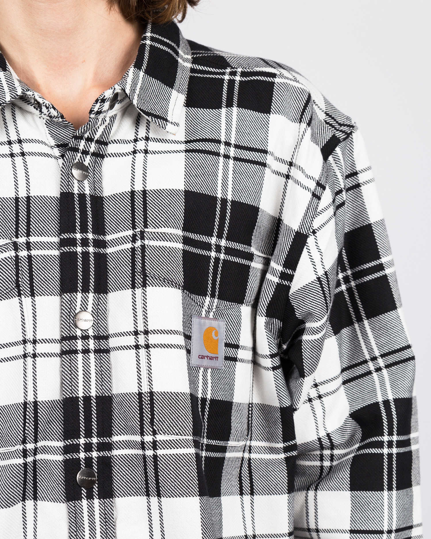 Carhartt Pulford Shirt Jacket Checkered Wax