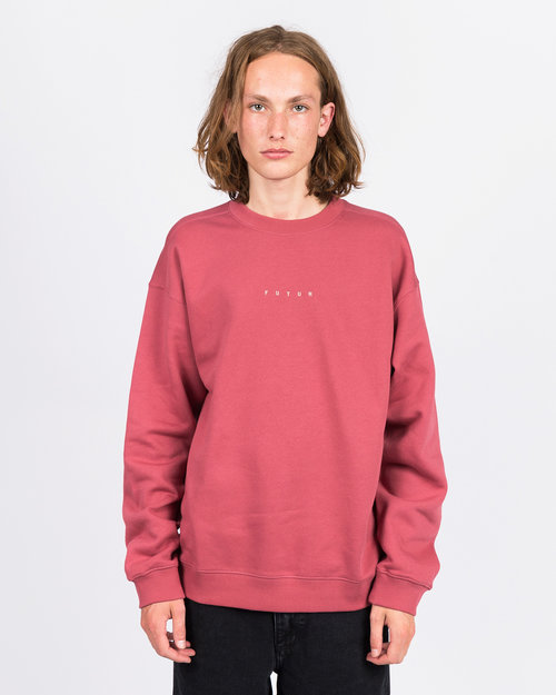 Futur Futur Logo G Fit Crewneck Soft Red