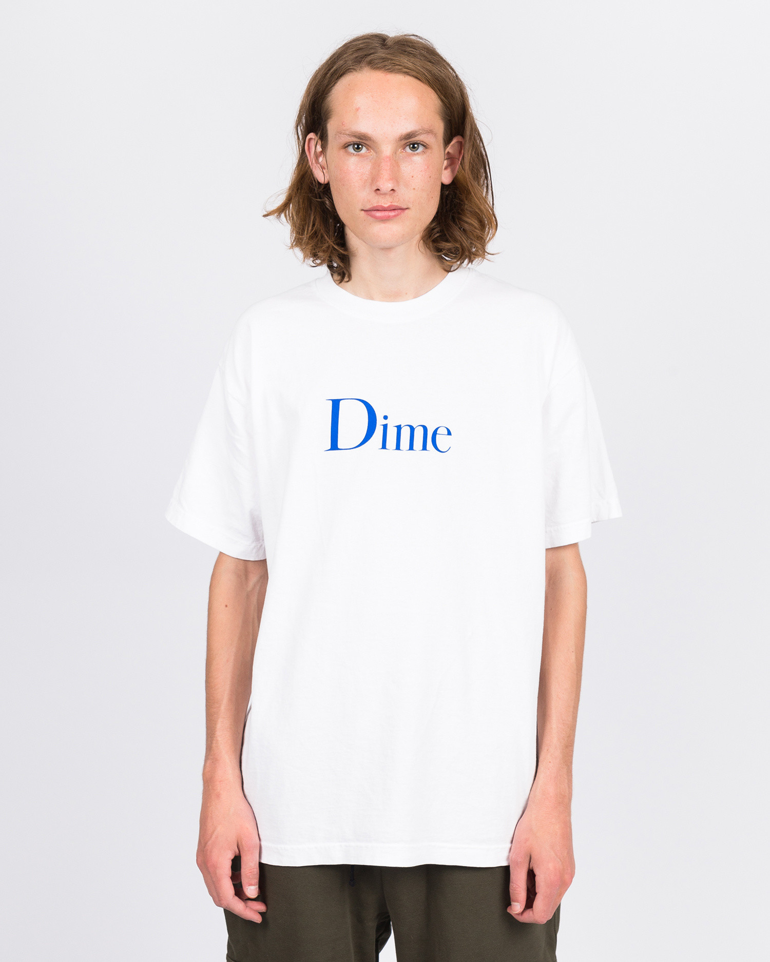 Dime Classic Logo T-Shirt Off-White