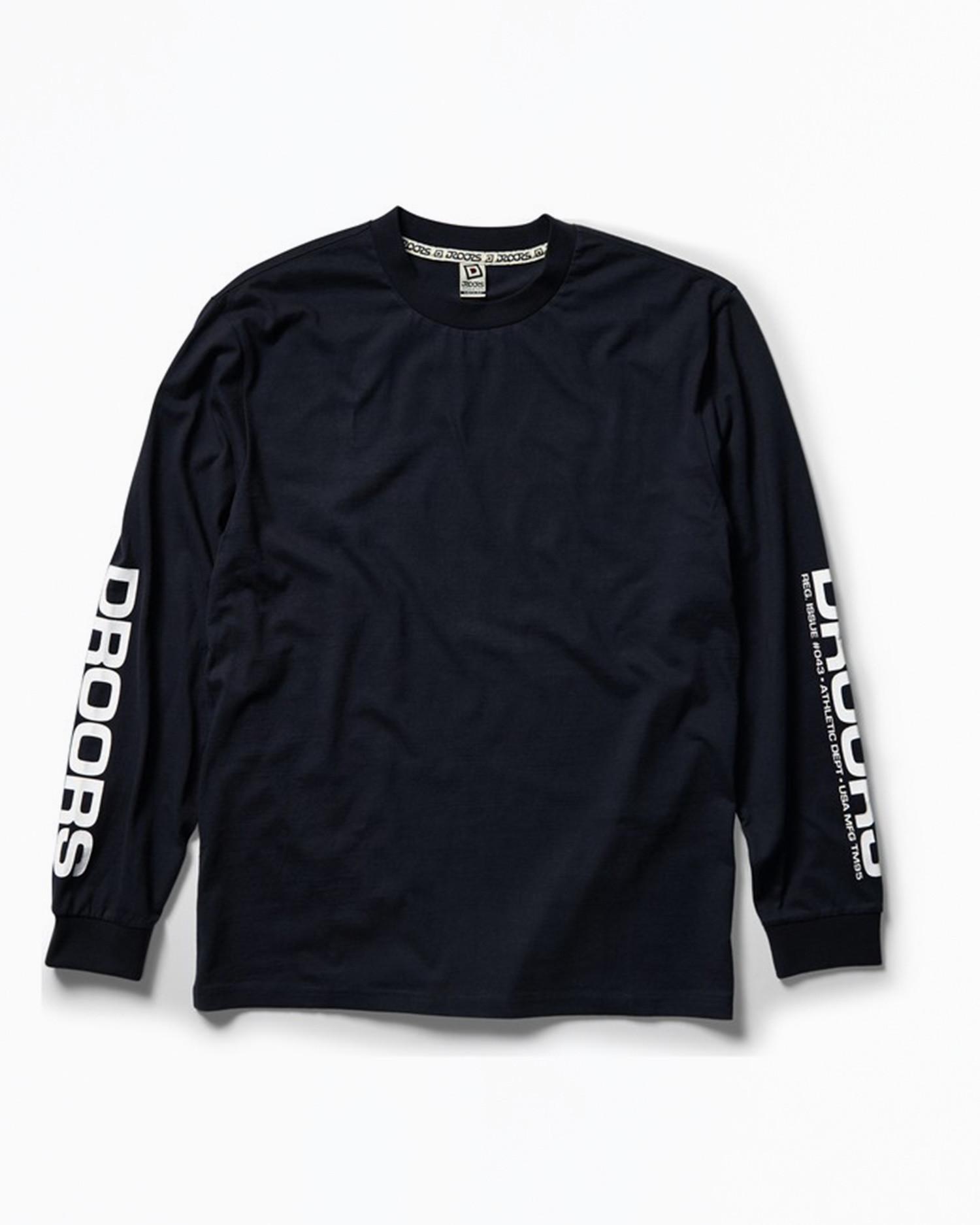 DROORS No. 42 Longsleeve T-Shirt Navy