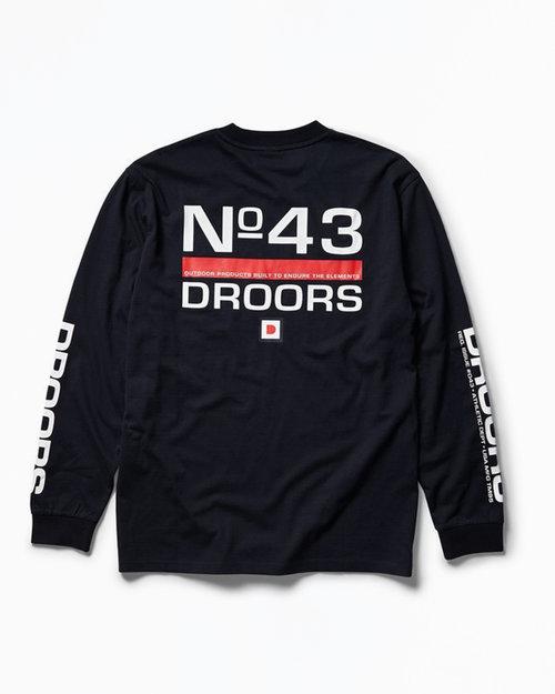 DC DROORS No. 42 Longsleeve T-Shirt Navy