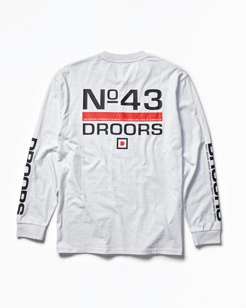 DC DROORS No. 42 Longsleeve T-Shirt White