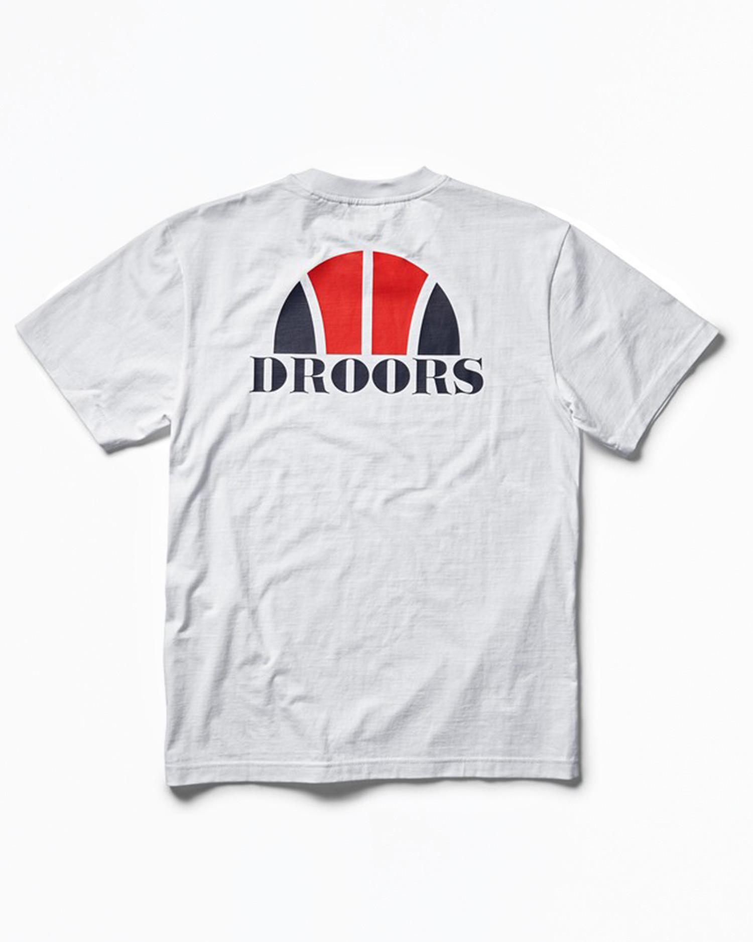 DROORS Basketbal T-Shirt White