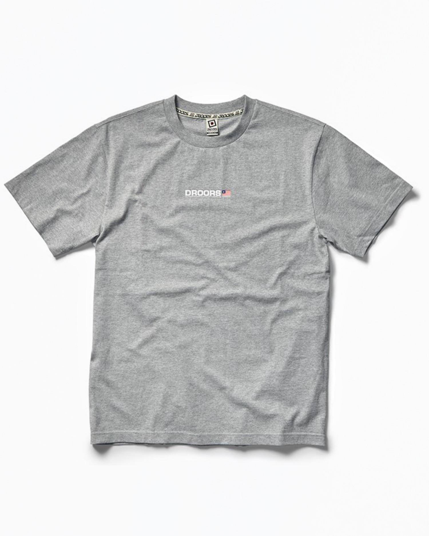 DROORS Mountain T-Shirt Grey Heather