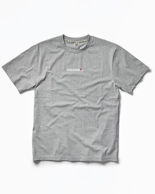 DC DROORS Mountain T-Shirt Grey Heather
