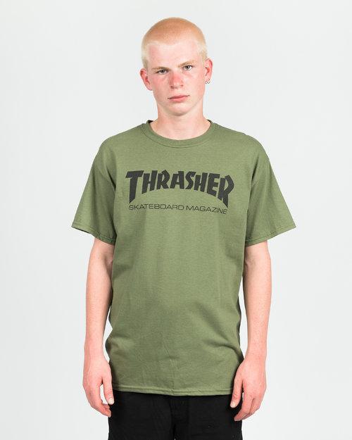 Thrasher Thrasher Skate Mag T-shirt Army