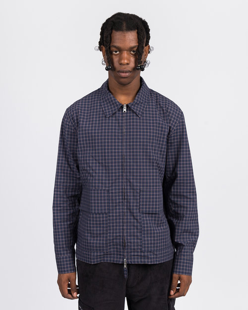 Pop Trading Co Pop Trading Co full-zip jacket check