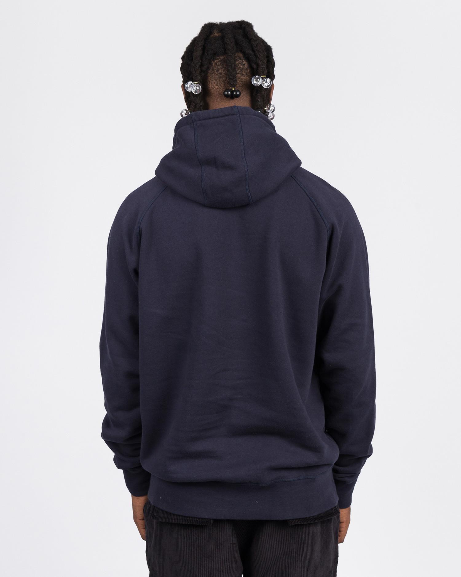Pop Trading Co royal 'O' hoodie navy