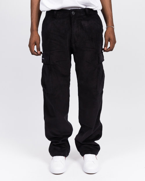Pop Trading Co Pop Trading Co cord cargo pants black