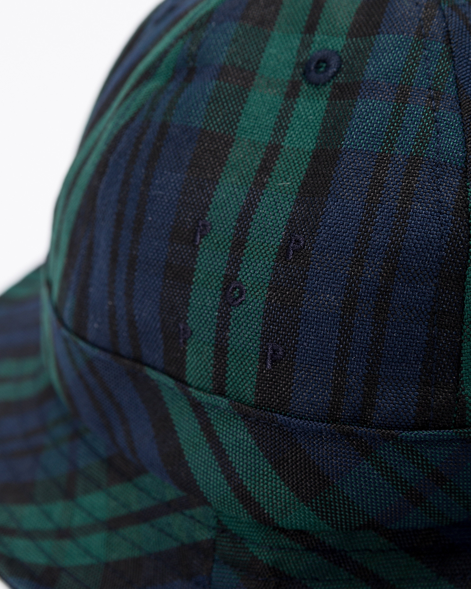 Pop Trading Co bell hat nightwatch plaid