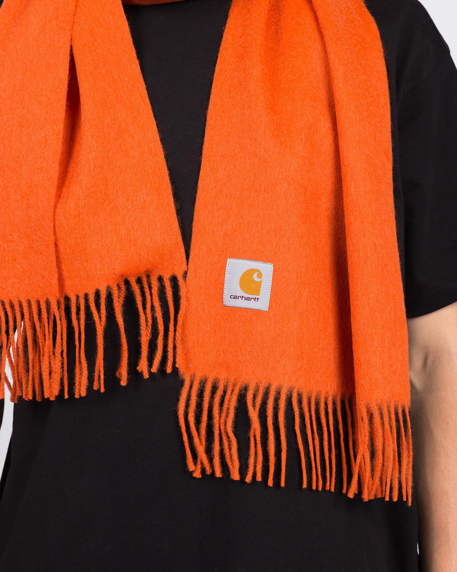 Carhartt Clan Scarf Brick Orange