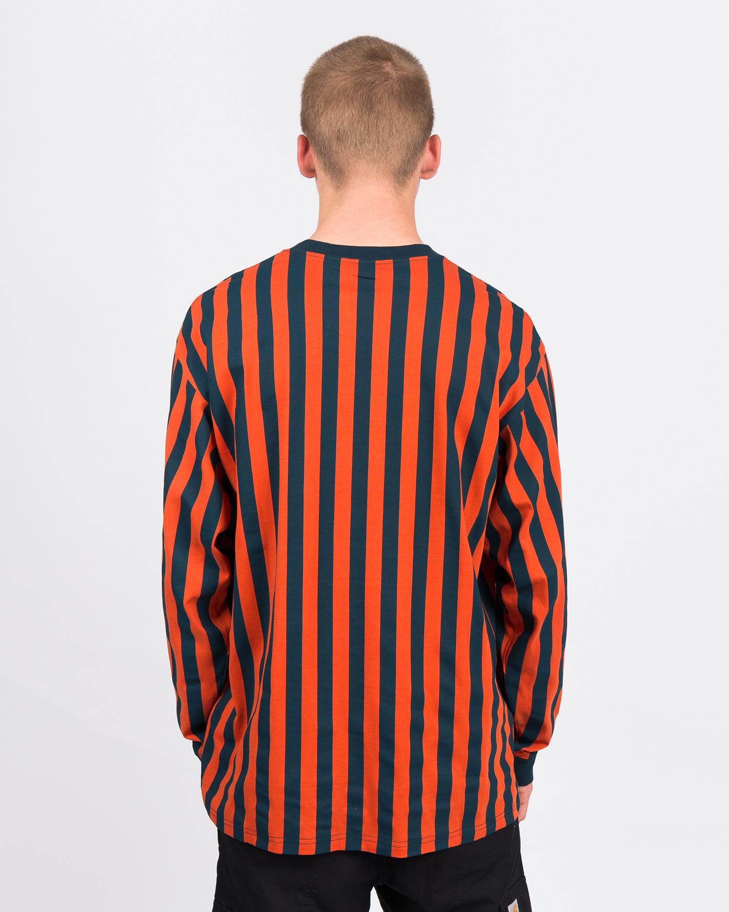 Carhartt Longsleeve Barnett T-Shirt Stripe