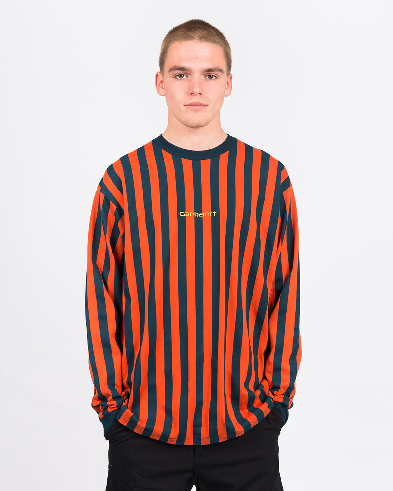 Carhartt Carhartt Longsleeve Barnett T-Shirt Stripe