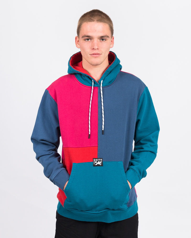 Parra Parra colorblocked hoodie