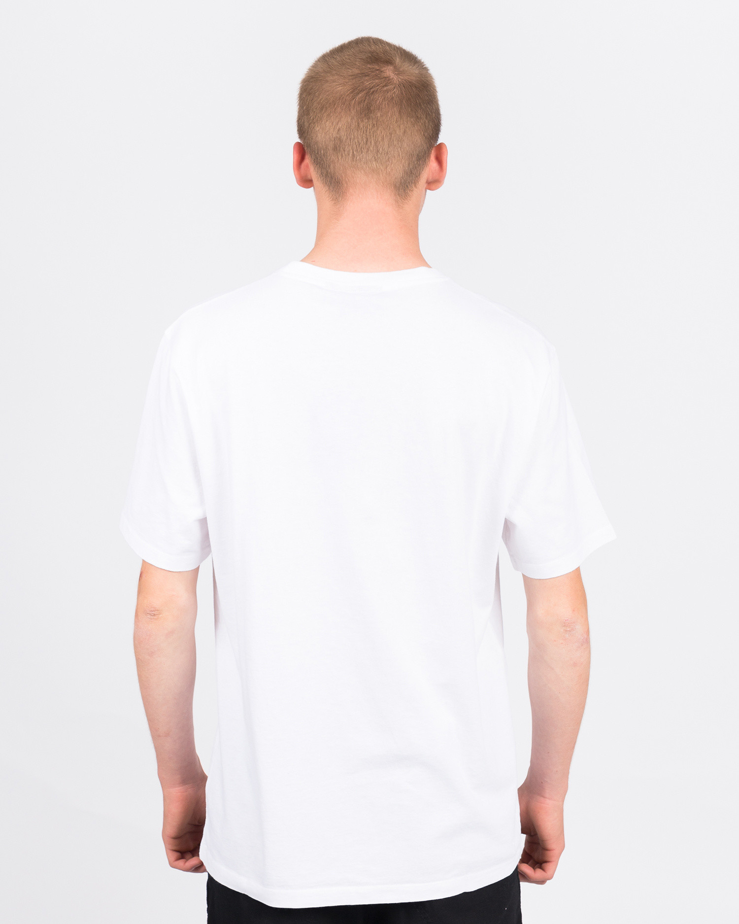 Parra Earl The Cat T-Shirt White