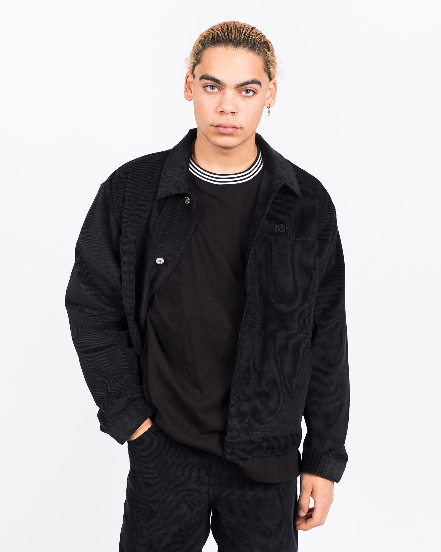 Polar Cord Jacket Black