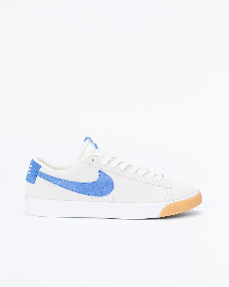 Nike SB Nike Sb Blazer Low Gt Pale Ivory/Pacific Blue-White