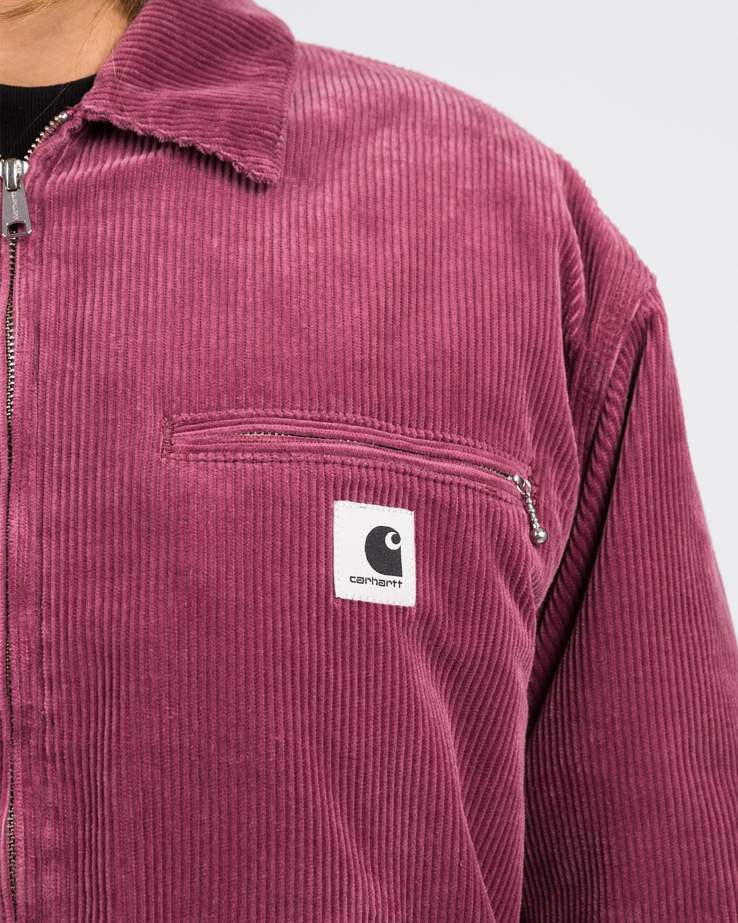 Carhartt Women's Great Detroit Jacket Dusty Fuchsia rinsed