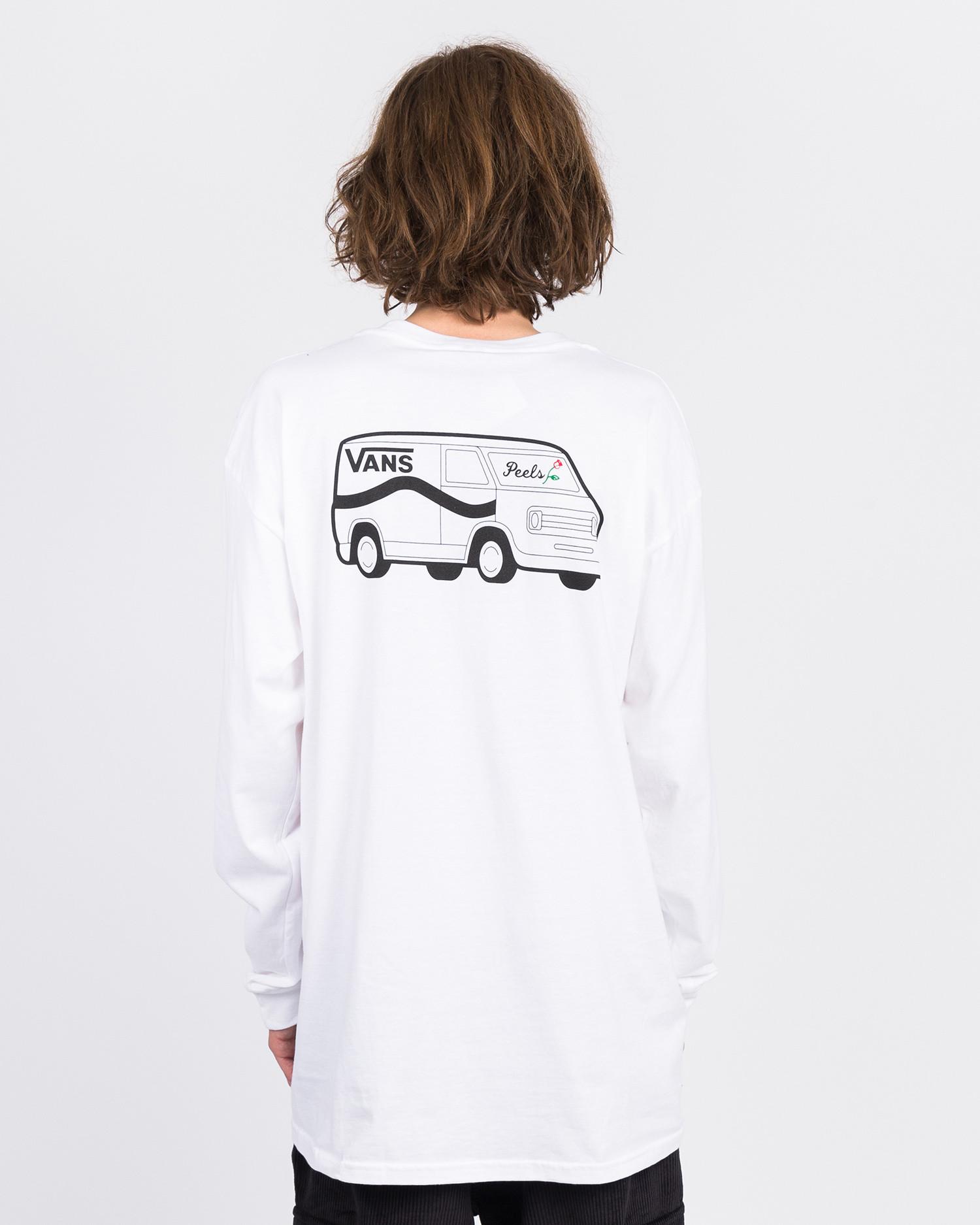 Vans X Peels Longsleeve White