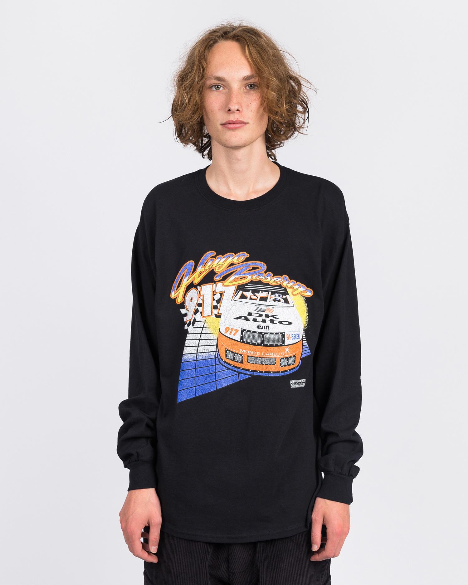 Call Me Hugoooo Longsleeve T-Shirt Black