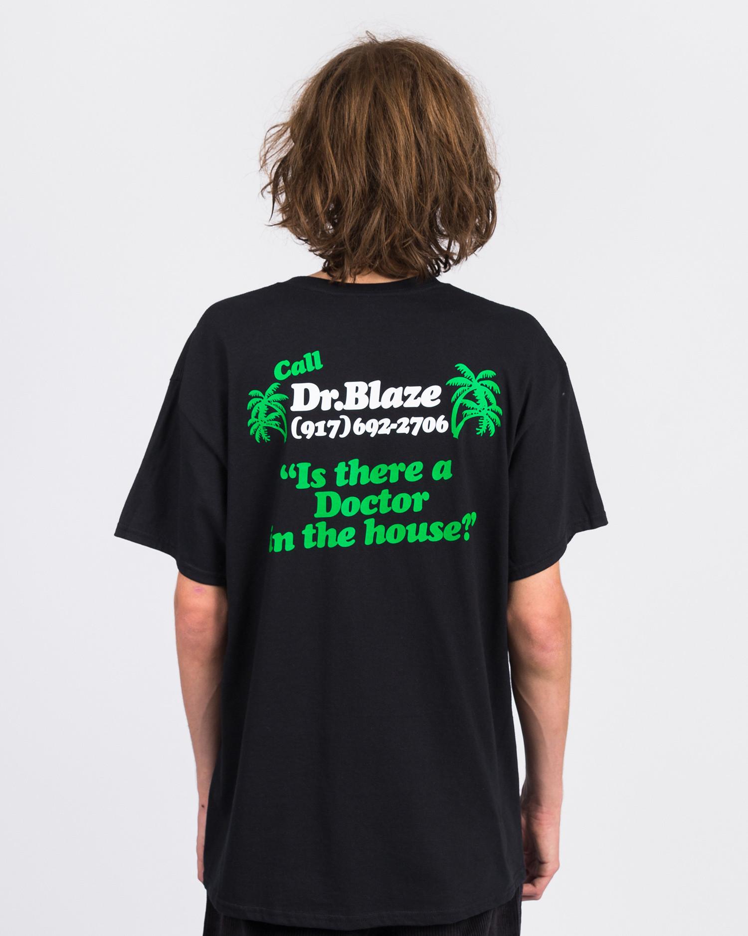 Call me 917 Dr. Blaze T-shirt Black