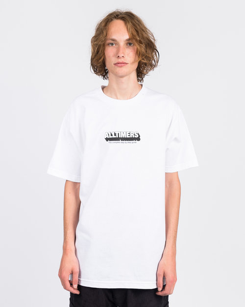 Alltimers Alltimers Guide To Life Tee White