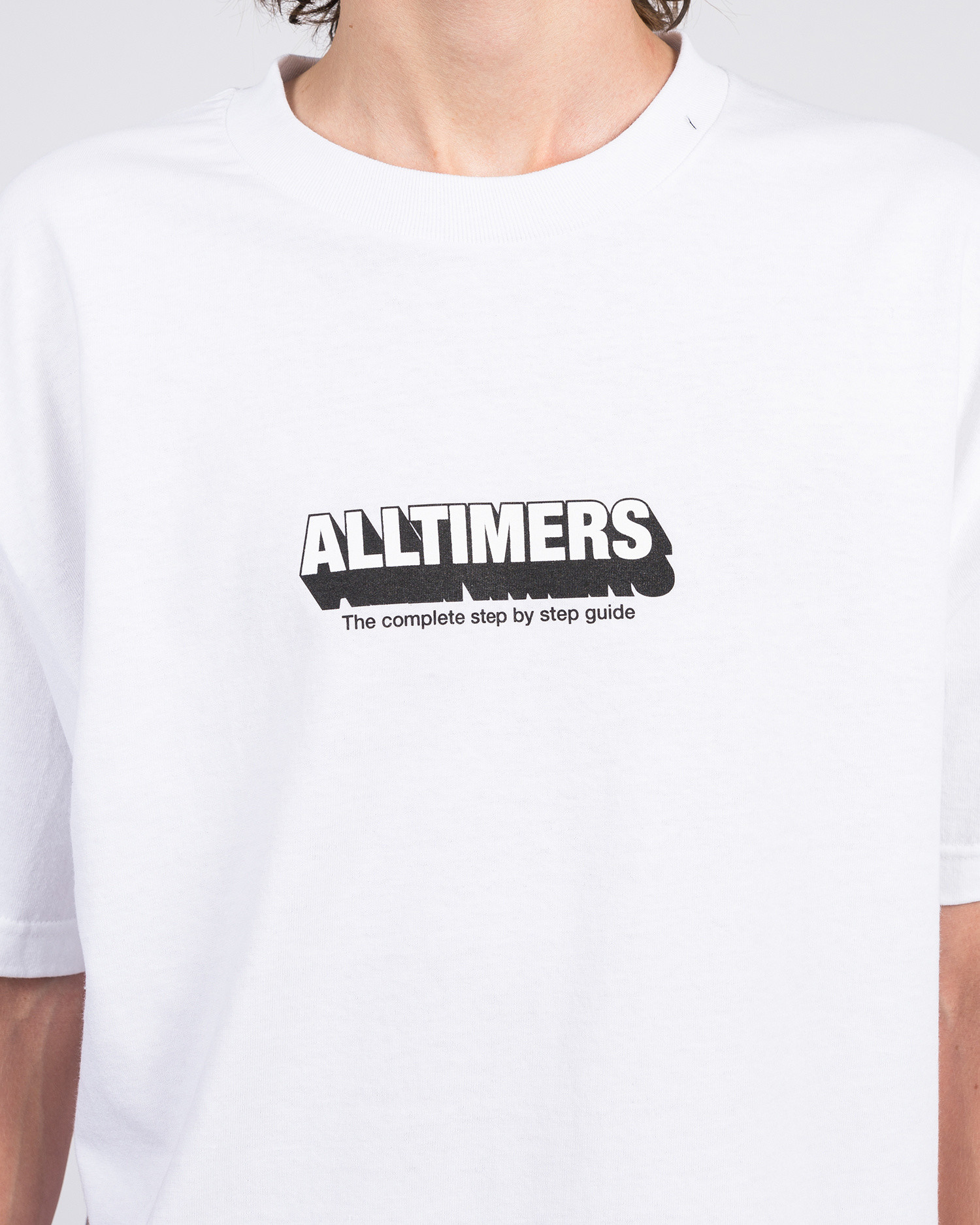 Alltimers Guide To Life Tee White